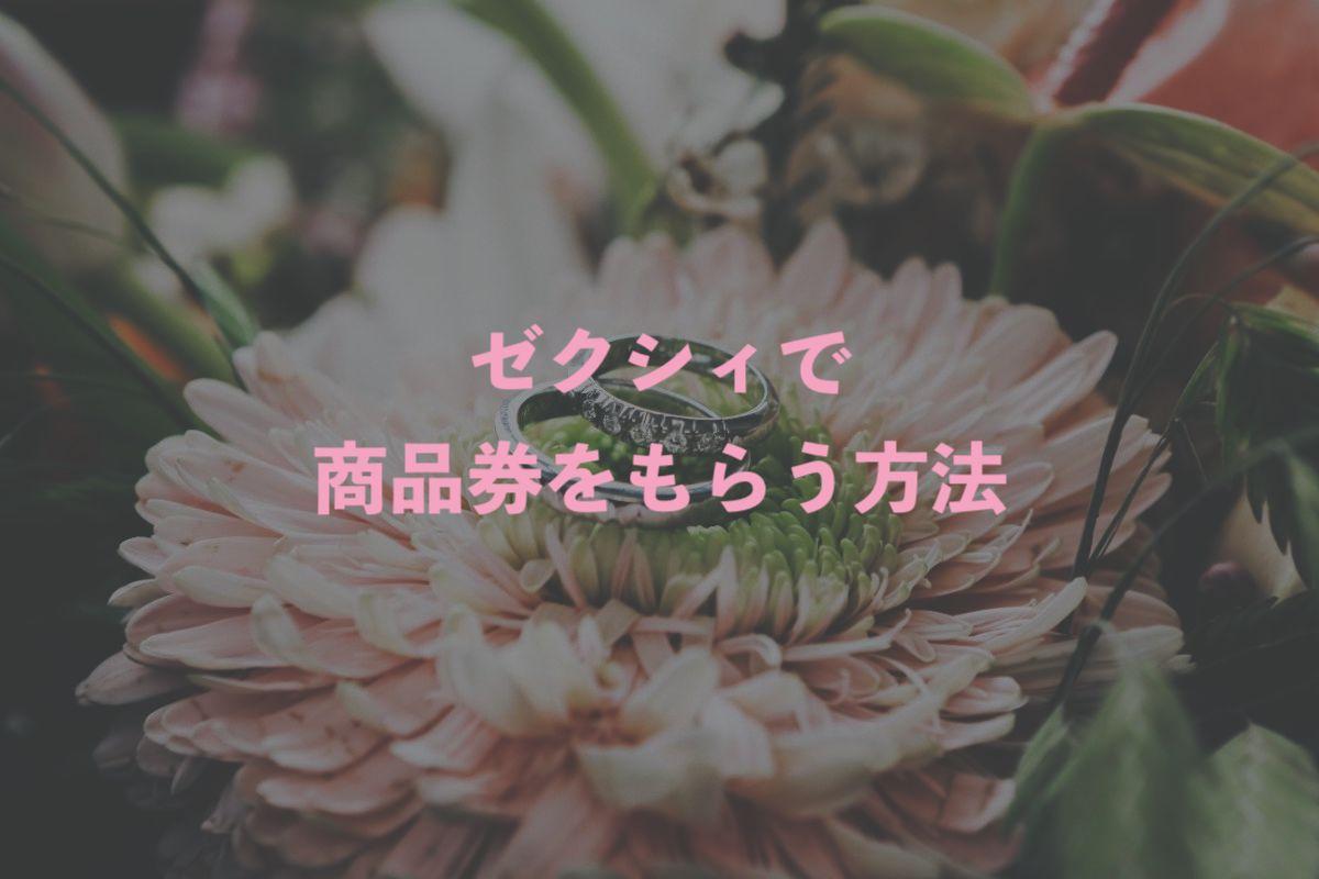 ゼクシィ_指輪探しの商品券_注意点