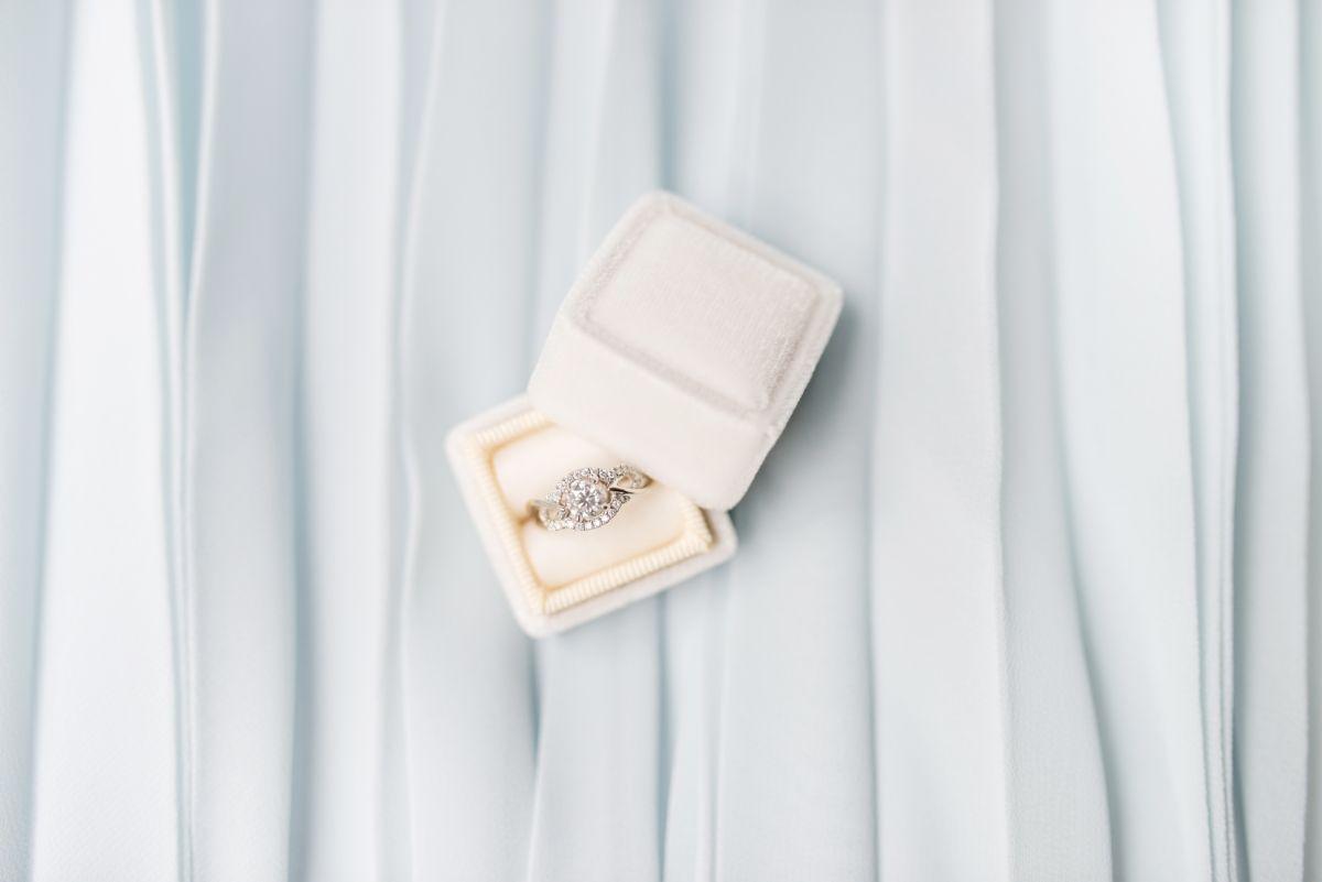 サプライズ用の婚約指輪