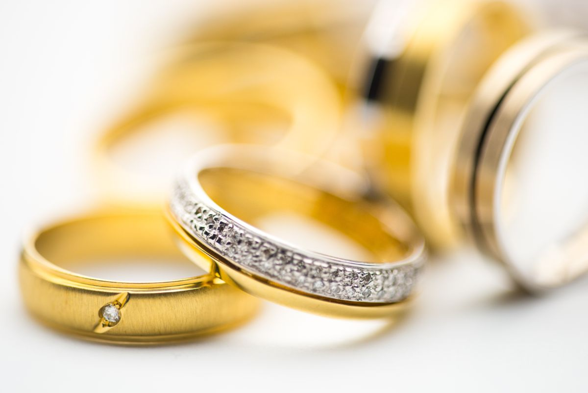 ゴールドの結婚指輪