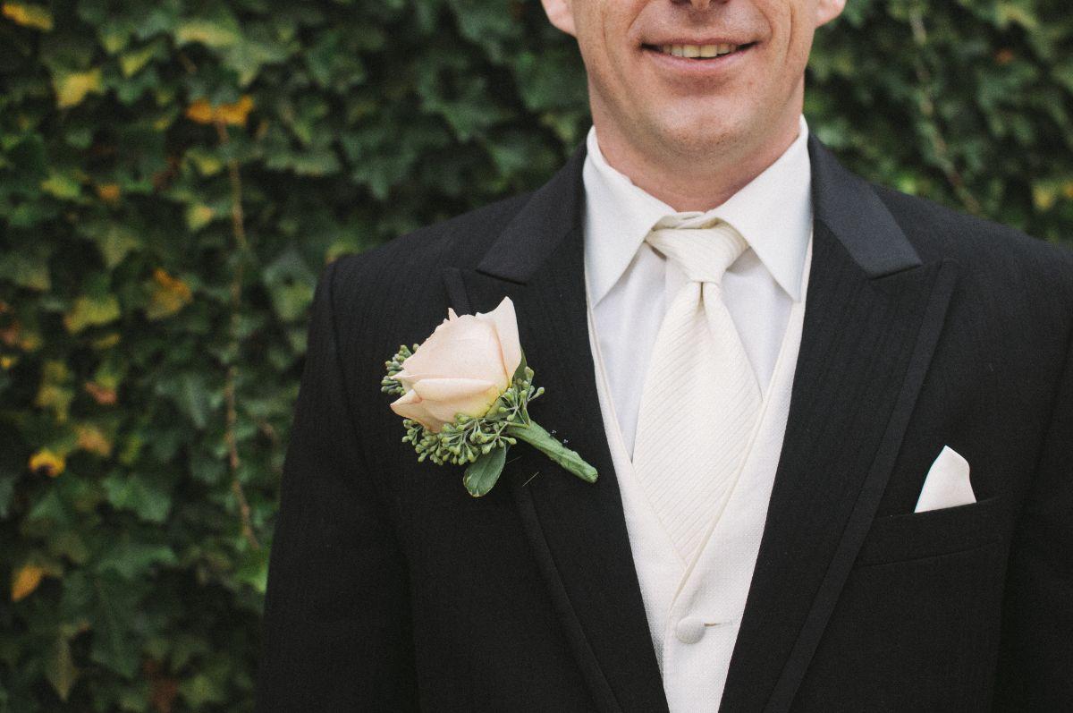 結婚式の新郎