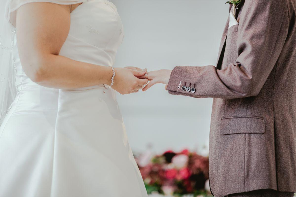 挙式の結婚指輪交換