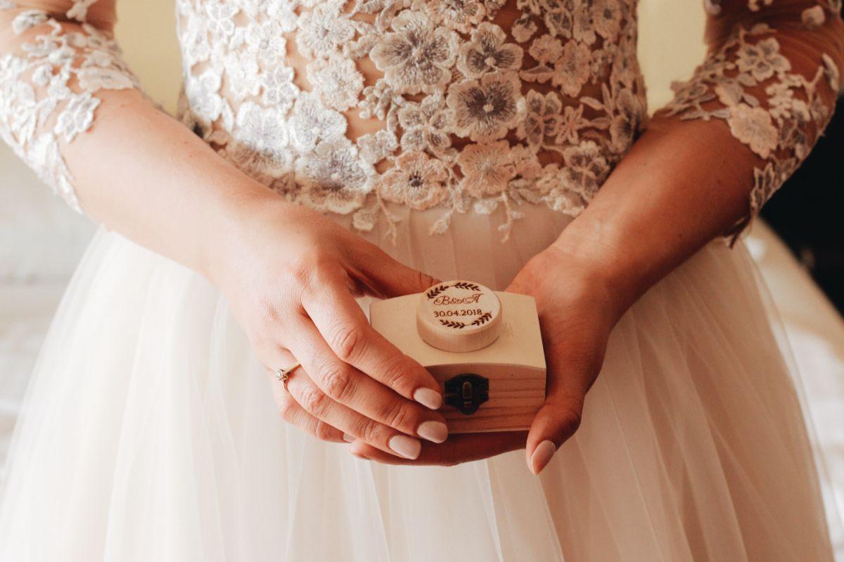 結婚指輪のケース